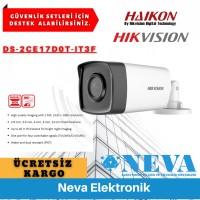 Hikvision DS-2CE17D0T-IT3F 2MP 1080P AHD HDTVI IR Bullet Kamera